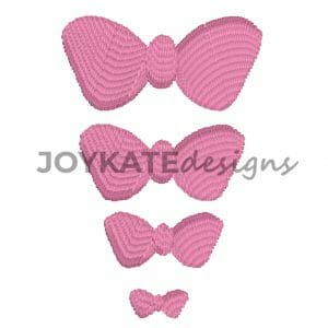 Satin Fill Bows in 4 Sizes
