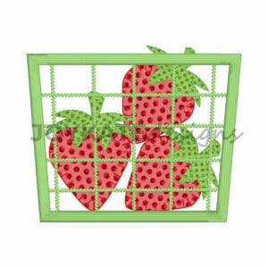 Strawberries in a Pint Basket