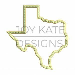 State of Texas Applique Design