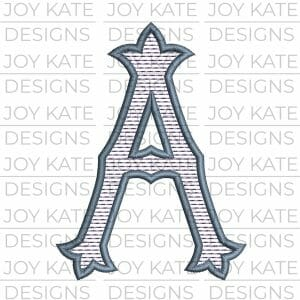 Sweet Home Embroidery Font Design for Machine Embroidery